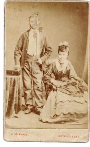 Scilly Isles Photo . unknown couple?
